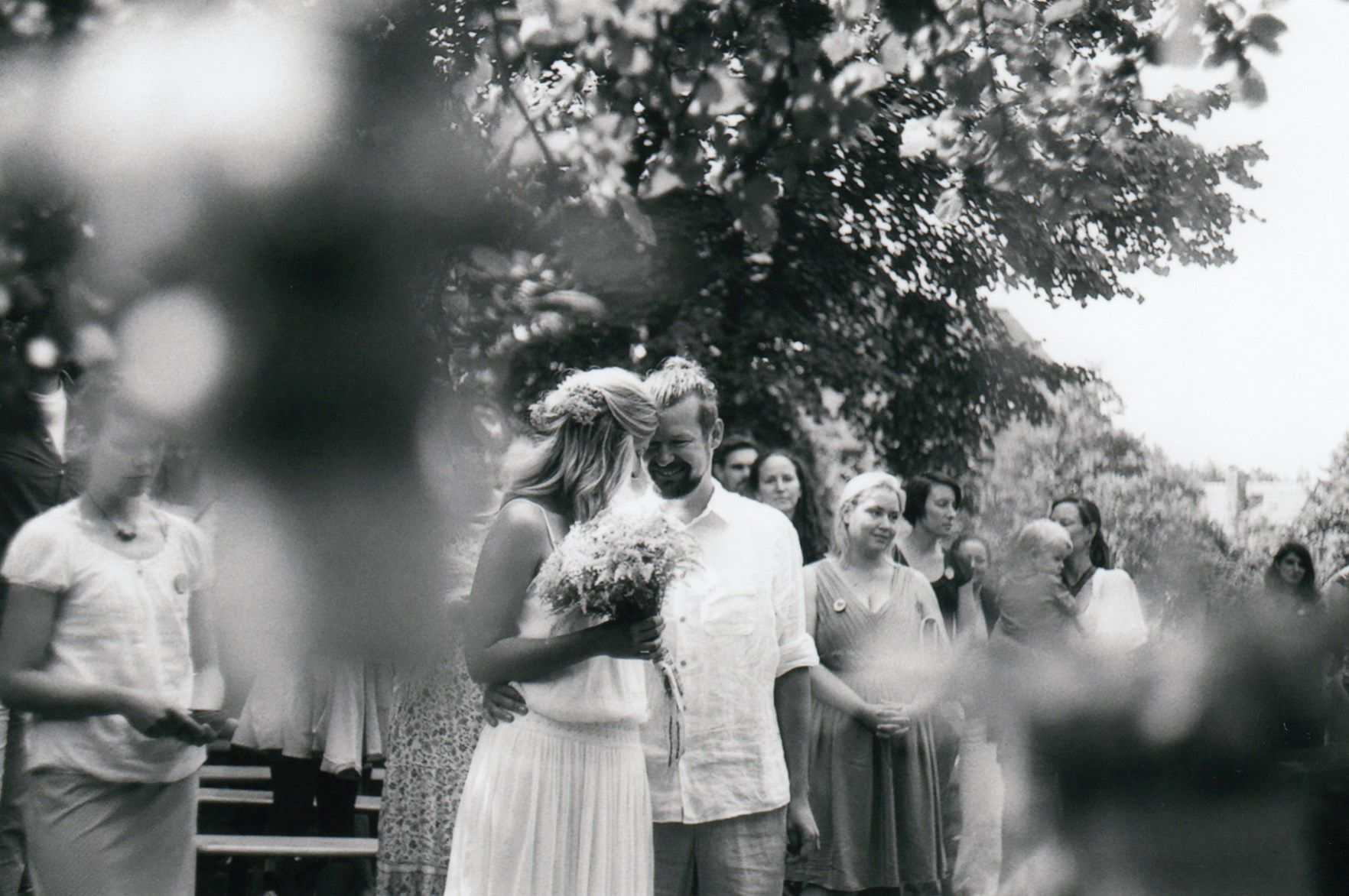 Svatba venku - Bára a Marian
