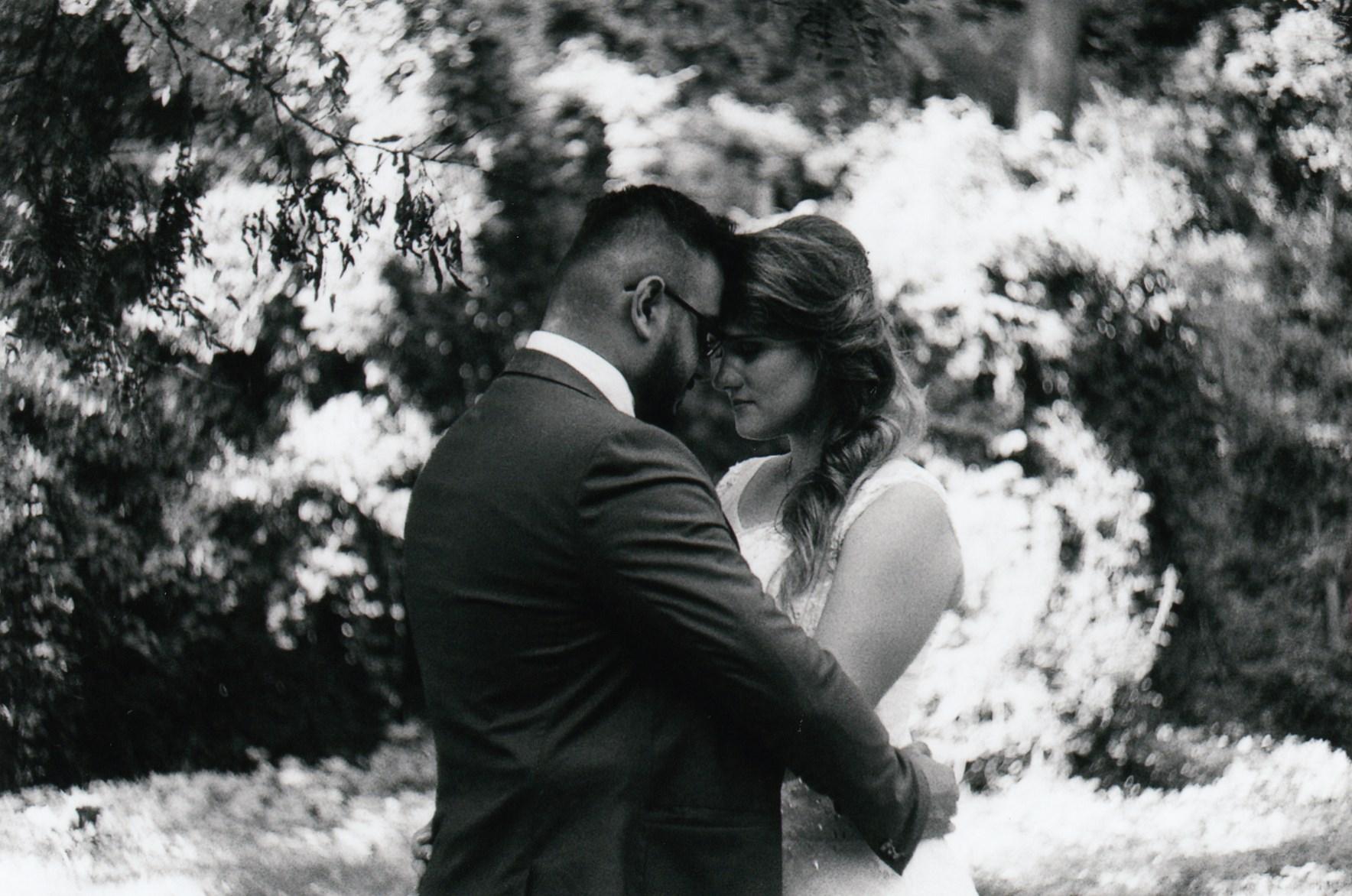 Hamid a Tereza - svatební foto