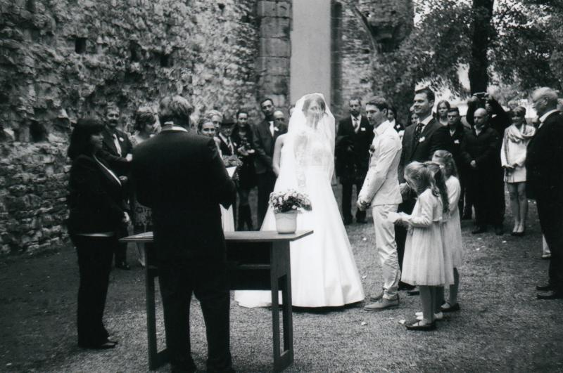 Bára a Luděk Svatební foto  (16)