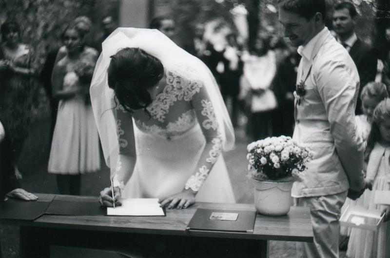 Bára a Luděk Svatební foto  (21)