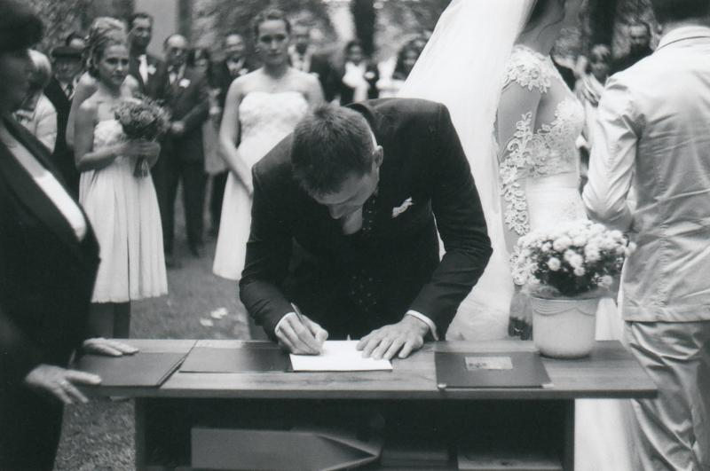 Bára a Luděk Svatební foto  (22)