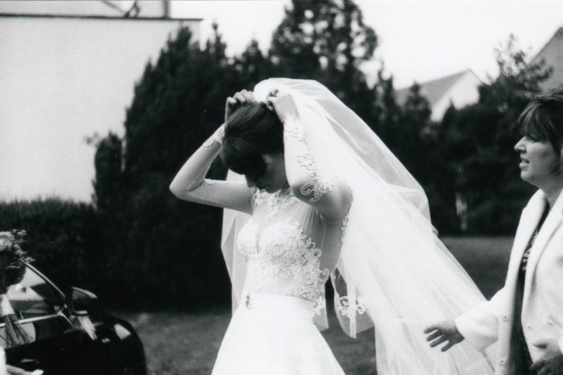 Bára a Luděk Svatební foto  (3)