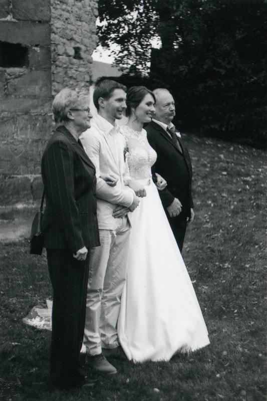 Bára a Luděk Svatební foto  (55)