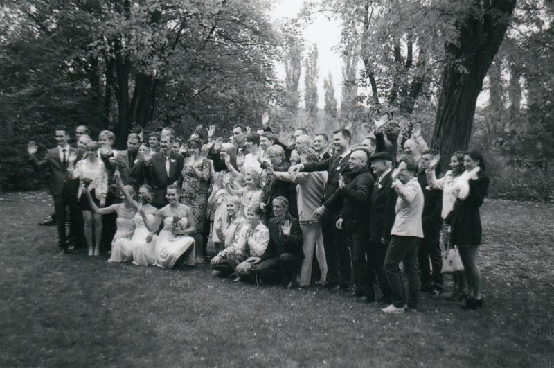 Bára a Luděk Svatební foto  (56)