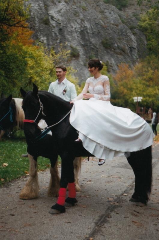 Bára a Luděk Svatební foto  (66)