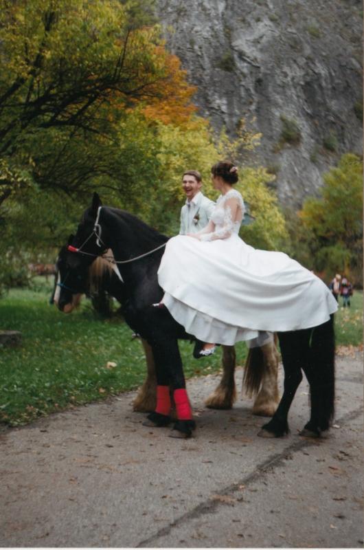 Bára a Luděk Svatební foto  (67)