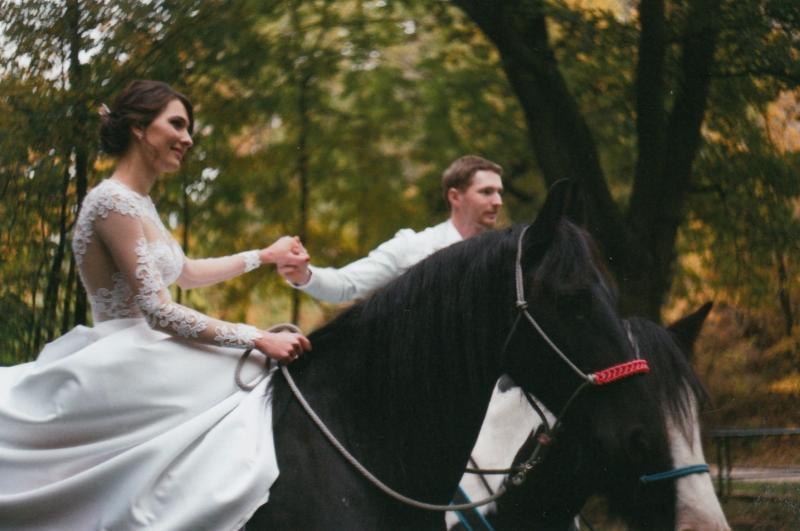 Bára a Luděk Svatební foto  (71)