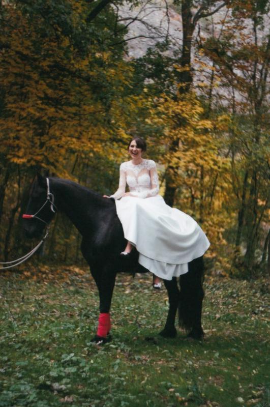 Bára a Luděk Svatební foto  (73)