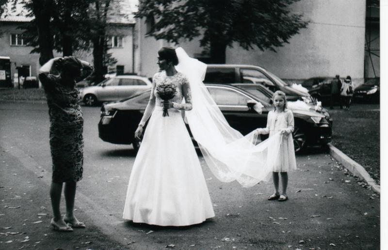 Bára a Luděk Svatební foto  (8)
