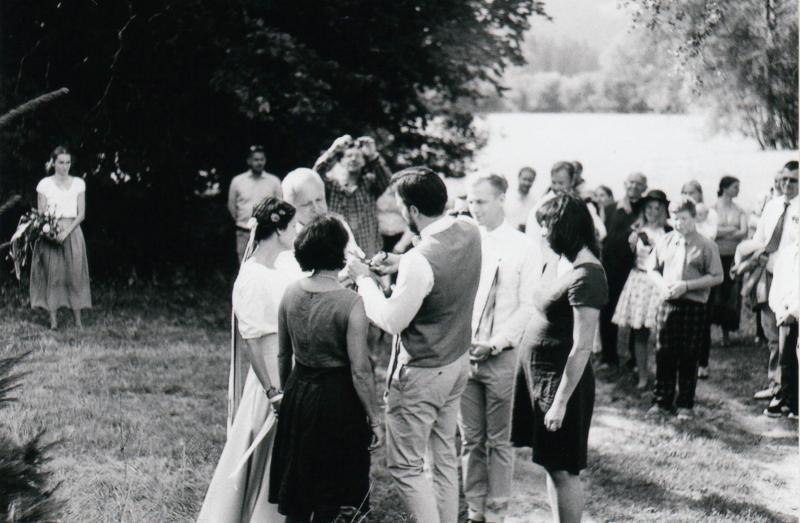 Zuzanka a Jeník  - Svatební foto Novohradské hory (25)