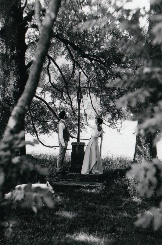 Zuzanka a Jeník  - Svatební foto Novohradské hory (31)