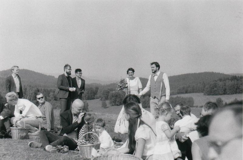 Zuzanka a Jeník  - Svatební foto Novohradské hory (49)