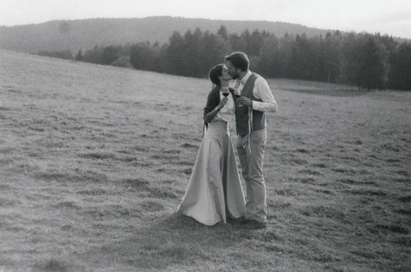 Zuzanka a Jeník  - Svatební foto Novohradské hory (90)