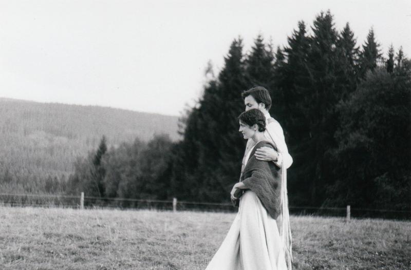 Zuzanka a Jeník  - Svatební foto Novohradské hory (92)