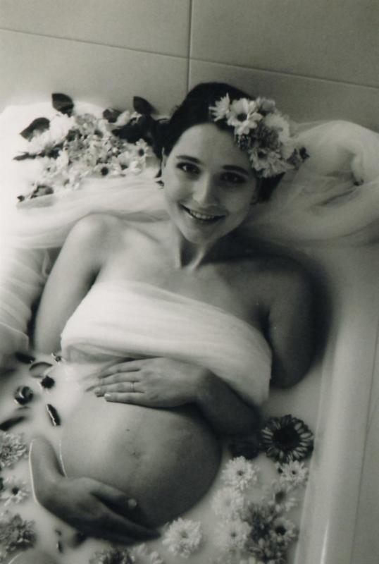fotograf - těhotenské fotky - na film Baruš září 2018  (2)